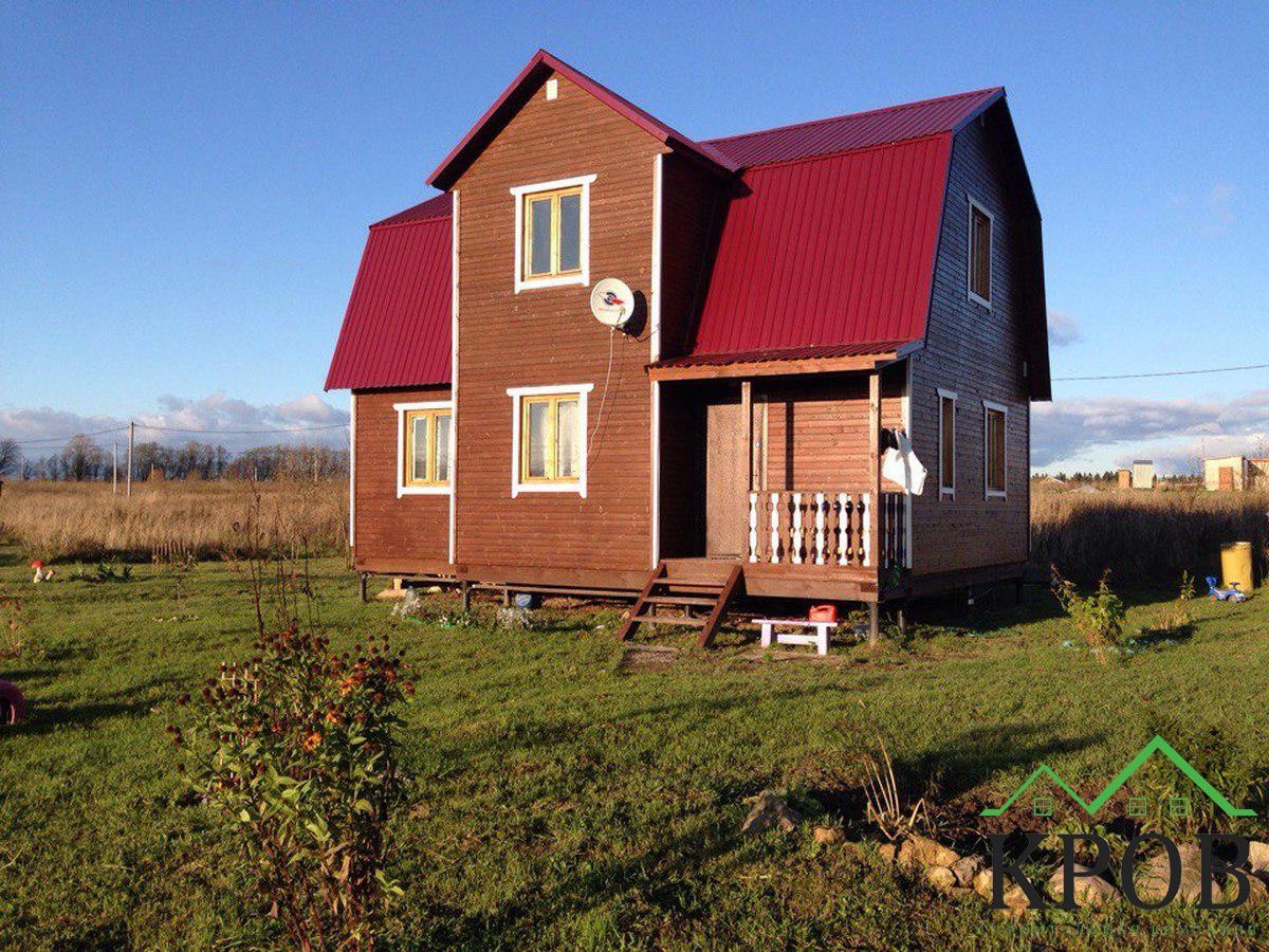 Каркасный дом 7х9 метров