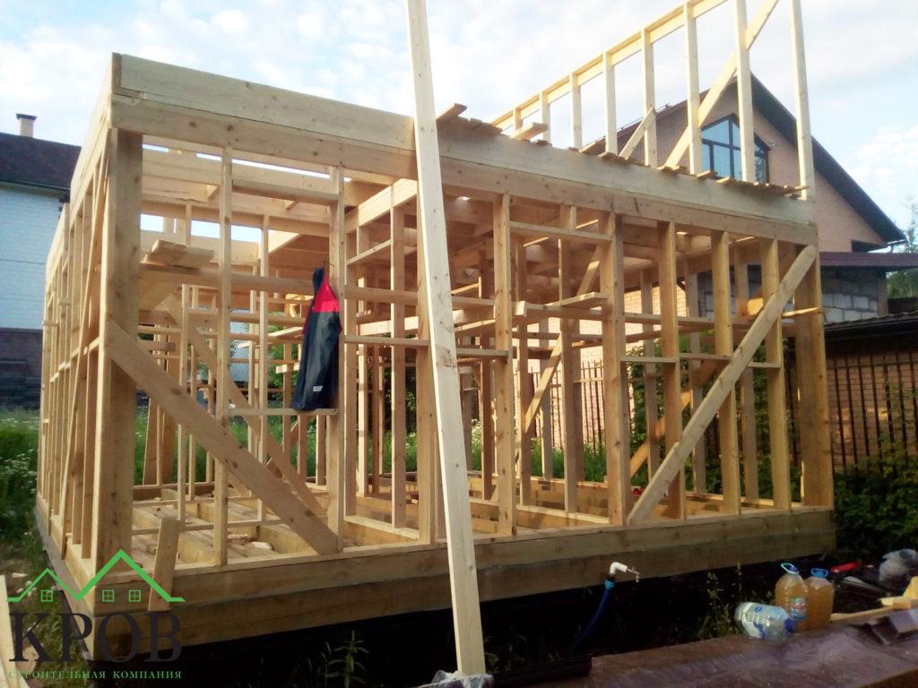 Межэтажное перекрытие из доски 50х200