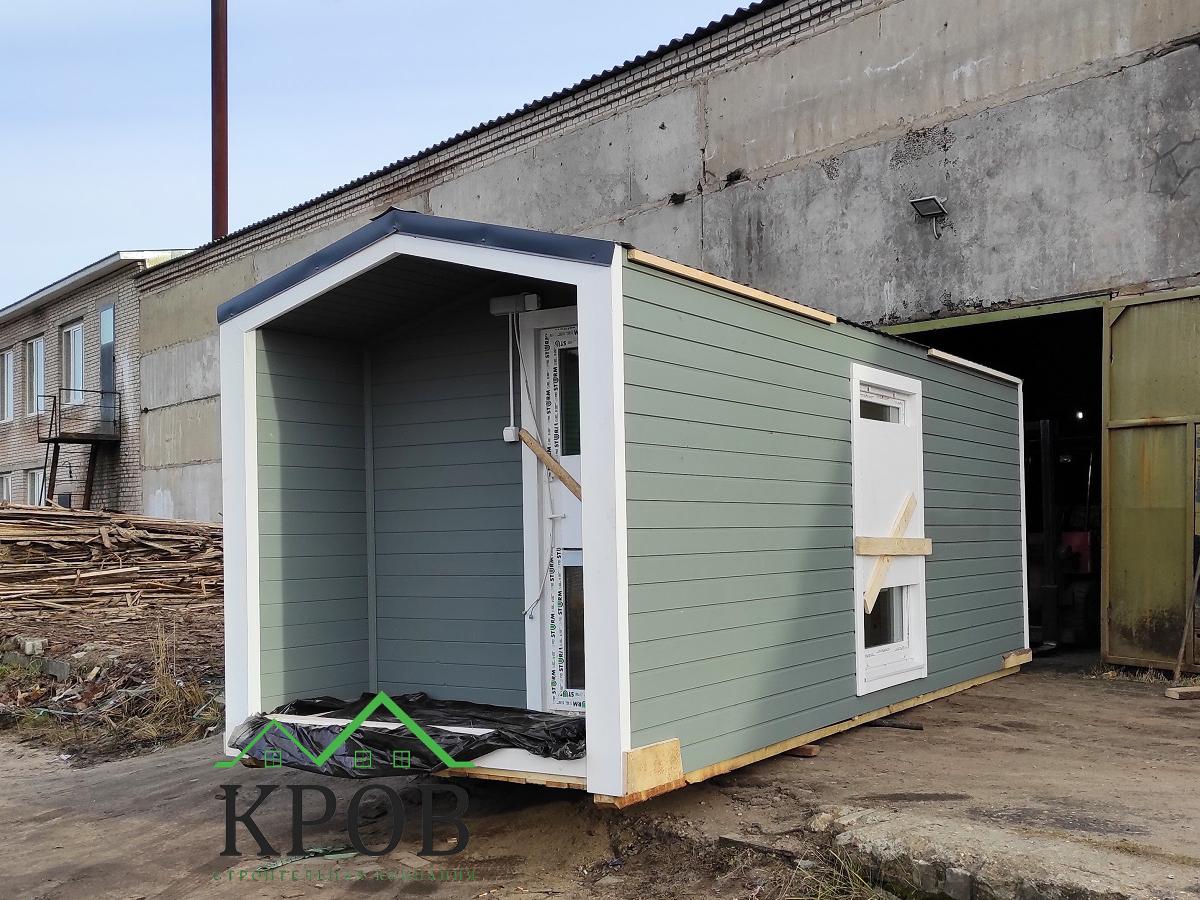 Модульный дом 6х2